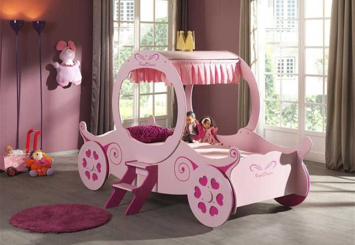 Artisan Princess Carriage Bed In Pink   Beds4less