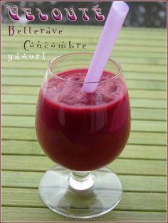 Velouté de betterave et concombre au yaourt (thermomix)