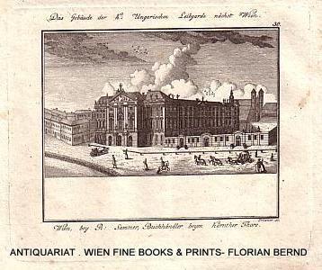 WIEN VII – Justizministerium [ursprünglich Palais Trautson, von 1760 bis 1848 Gebäude der...