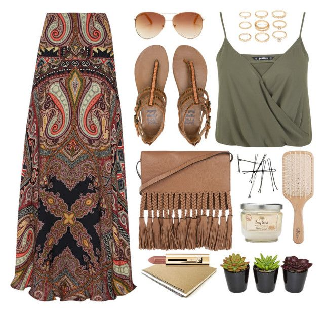 That other vibe by monmondefou on Polyvore featuring polyvore, fashion, style, Miss Selfridge, Etro, Billabong, Forever 21, Tommy Hilfiger, Philip Kingsley, boho and bohochic