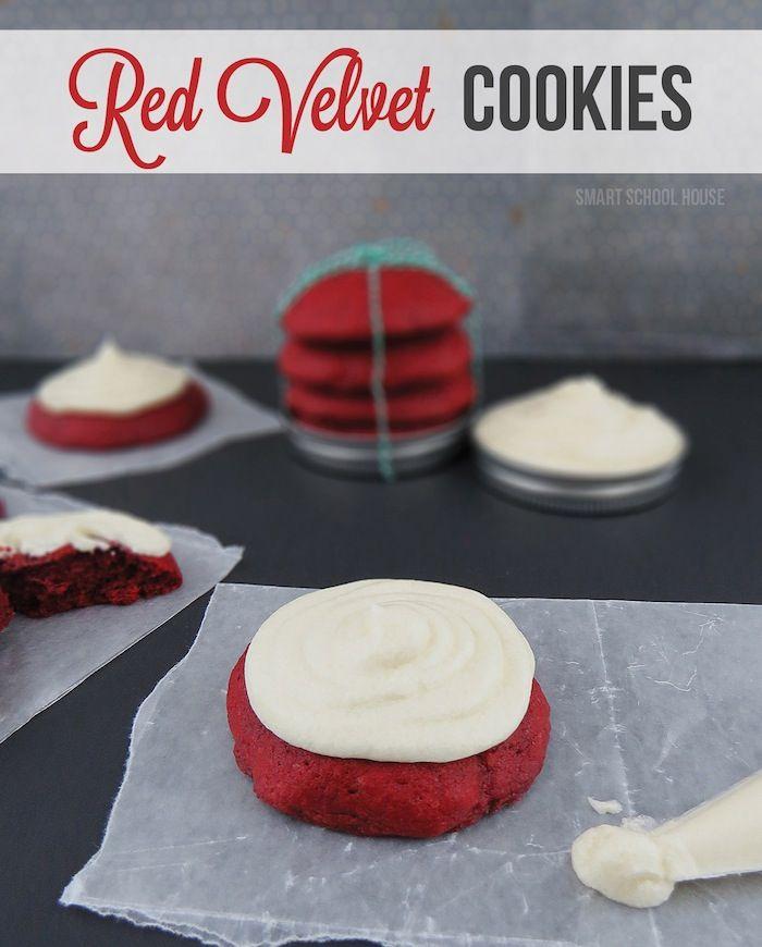 Red velvet cookies, Red velvet and Velvet on Pinterest