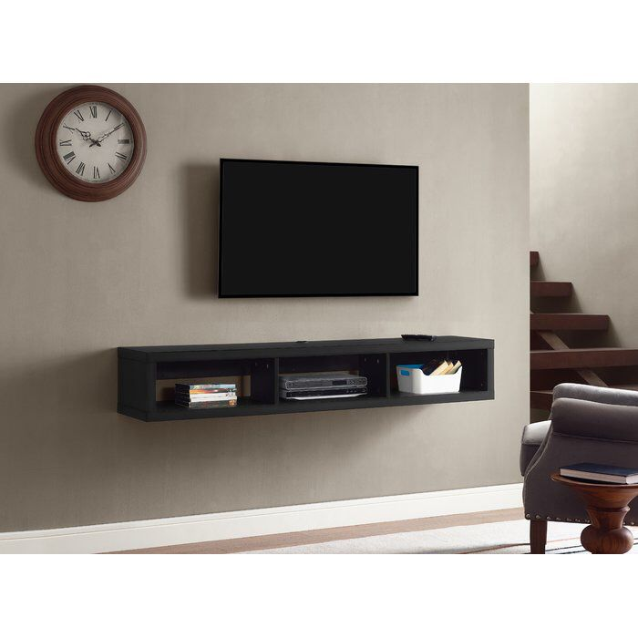 Shallow Wall Mounted Tv Nice Idea But Burying Wires A Problem