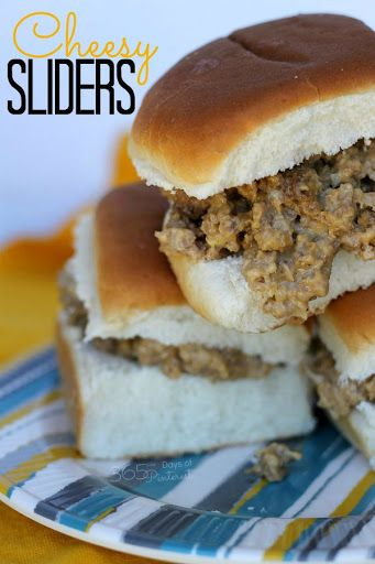 Cheesy Sliders Recipe on Yummly | Insliders | Pinterest | Slider ...