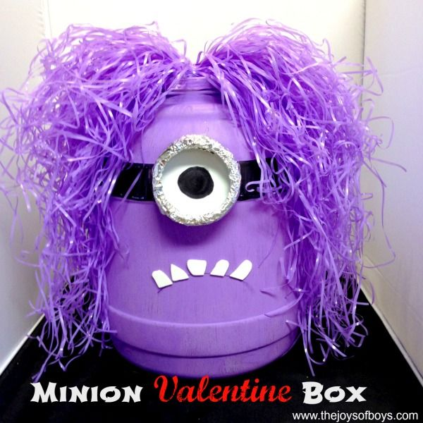 Minion Valentine Box This minion Valentine box was one of the most fun projects we have ever done on the blog. I seriously LOVE how it turned out. It just makes me laugh. This week I am at a blog...