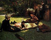 "New artwork for sale! - "" In The Sunshine by James Jacques Joseph Tissot "" - http://ift.tt/2qp6wSH"
