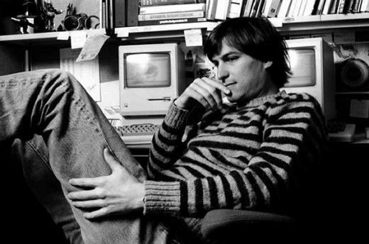 My fav pic of Steve Jobs