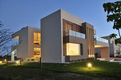 Proyecto casa franklin nordelta for Construccion de casas minimalistas en argentina