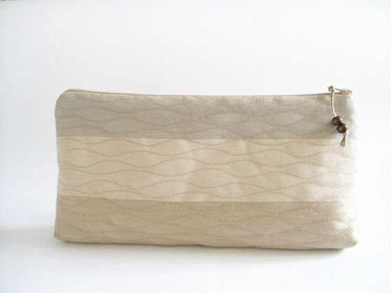 Bridesmaids Clutch, Wedding Handbag, Cosmetic Purse, Christmas Gift for Her, Mother of the Bride / Groom Gift Bag