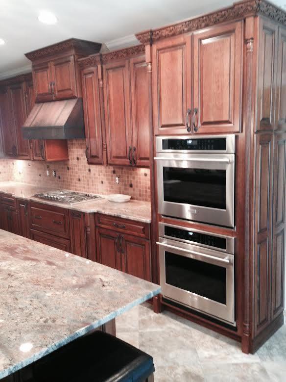 95 best kitchen images on pinterest kitchens cooking for Black kitchen units sale