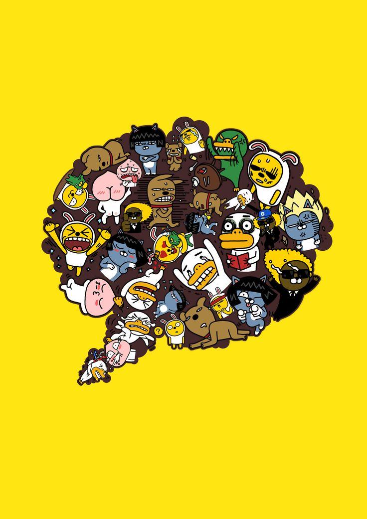 9 Best Kakao Images On Pinterest Kakao Friends Korea