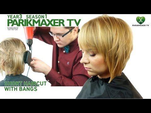 Стрижка и укладка длинных волос Simple updo for long hair parikmaxer tv парикмахер тв - YouTube