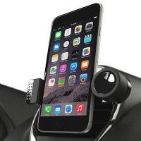 """iPhone Car Mount by enviCAR - The 1 Most Trusted Portable Universal Cell Phone / Smartphone Air Vent Holder Vehicle Cradle with 360° Rotate, Swivel & Tilt Feature and SIRI Voice Commands for Apple iPhone 6s 6 (4.7"""") / Plus (5.5"""") / 5 5s 5c 4 4s / Samsung Galaxy S6 Edge S5 S4 S3 Note 4 3 HTC One Nexus & All Mobile / GPS Devices up to 5.5"""" Screen http://themarketplacespot.com/wp-content/uploads/2015/10/51cWJfkRnKL-200x200.jpg   ENVICAR CAR MOUNT CELL PHONE HOLDER: ENJOY MORE O"""