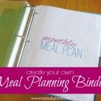 Meal Planning to the Extreme. 10 posts on how to create, organize and personalize a meal planning binder that works perfectly for your family.