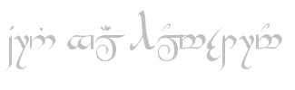 Rune Generator: type your name and see it written in Dwarf Runes (or Elvish).