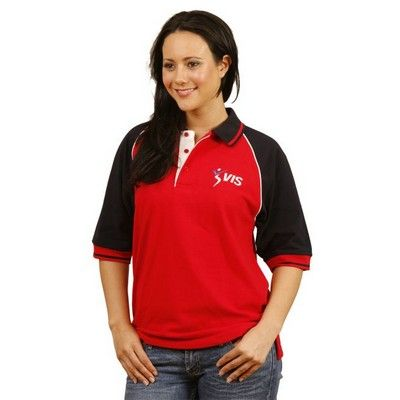 Cotton Pique Custom Polo Shirt (Unisex) Min 25 - Clothing - Polo Shirts - Unisex Polo Shirts - WS-PS091 - Best Value Promotional items including Promotional Merchandise, Printed T shirts, Promotional Mugs, Promotional Clothing and Corporate Gifts from PROMOSXCHAGE - Melbourne, Sydney, Brisbane - Call 1800 PROMOS (776 667)
