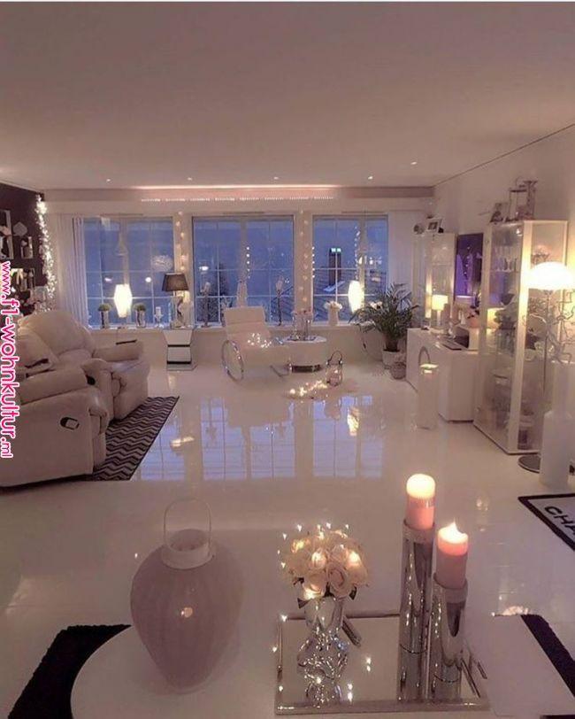 Ich liebe es, wie chill und doch elegant das ist. Vom schwachen Licht mit Kerzen in die Luft … – Decor Diy