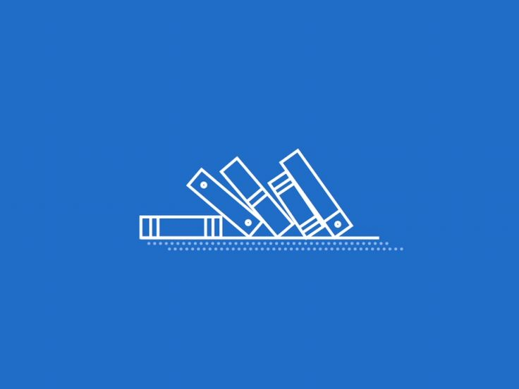Book shelf Loader Icon by Hoang Nguyen
