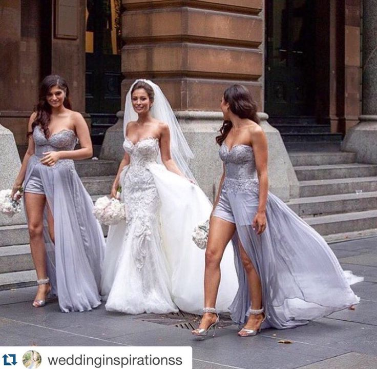 Souraya Couture custom made and designed bridesmaids gowns