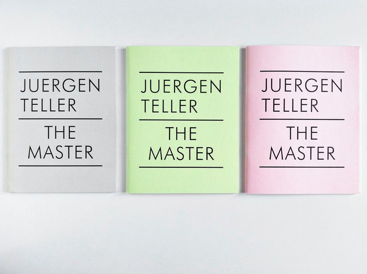 """Designs by Peter Miles for Juergen Teller – forming a harmonious triad."""