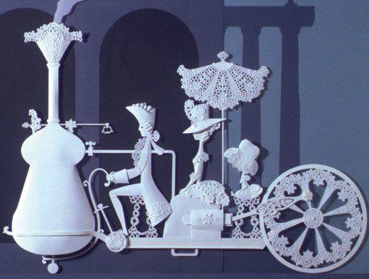 Image from Michel Ocelot's Les Trois Inventeurs