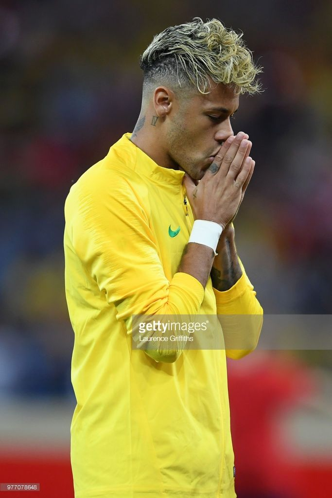 Neymar Jr Of Brazil Prior To The 2018 Fifa World Cup Russia Group E