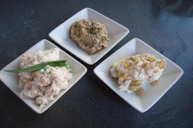 Prepara 3 salsas para untar con ricotta