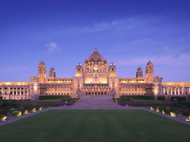 These Are the 25 Most Amazing Hotels Across the World - Umaid Bhawan Palace Jodhpur