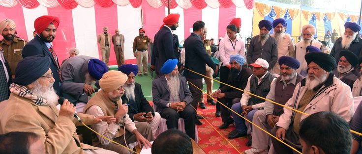CM Parkash Singh Badal yesterday held Sangat Darshan program in Kartarpur assembly segment and interacted with people. He also addressed the public gatherings at village Naugajja, Kandhala Guru and Kartarpur saying that Sangat Darshan was a flagship program of his government from the first day ever since he assumed the office.#AkaliDal #ProgressivePunjab