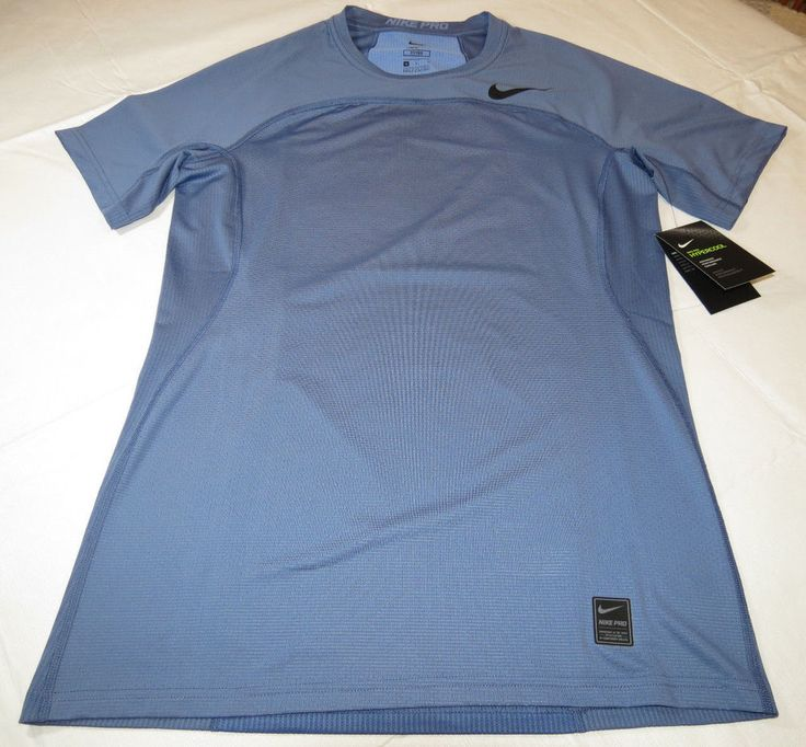 Nike Pro HyperCool Fitted Mens short sleeve shirt 828178 415 XL xlrg Swoosh NWT #Nike #SportTee
