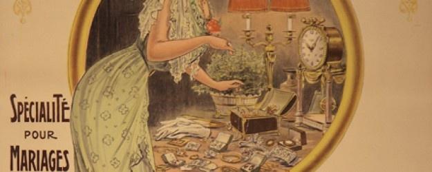 Carteles con Historia. Joallerie Billard Hem 1910 #bodas #finca #madrid #eventos