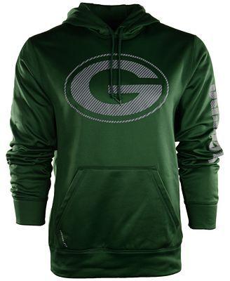 Nike Men's Green Bay Packers Carbon KO Hoodie