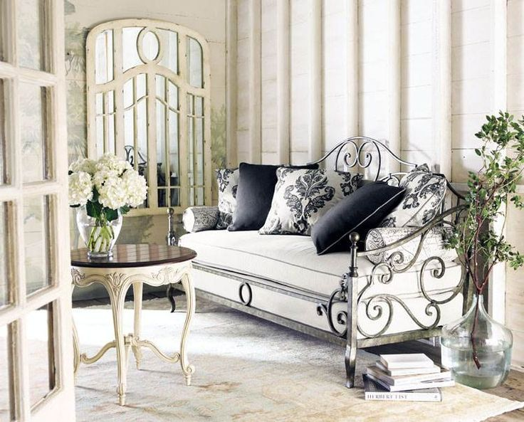 Beige Living Room with Beautiful Lace Signature Classic Couch