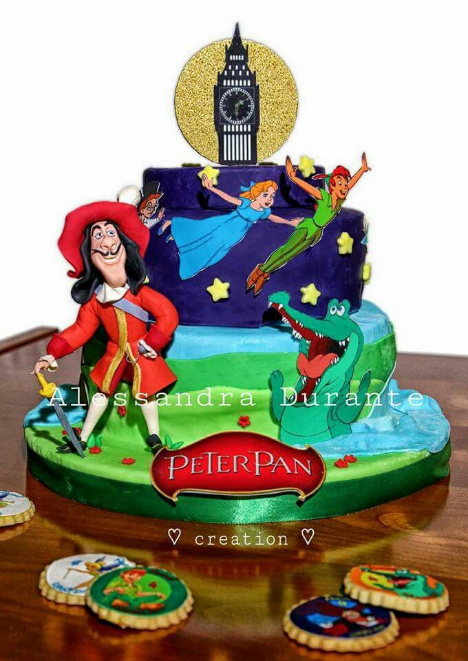 #peterpanparty #peterpancake #lovemywork #handmade #withlove #alessandradurante
