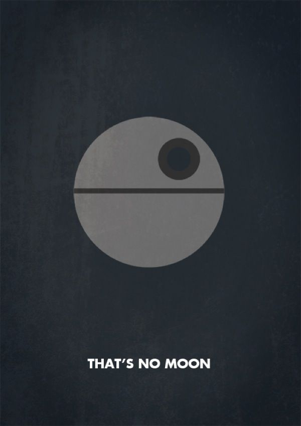 Irish designer Keith Bogan has created a series of minimalist Star Wars posters featuring Han Solo, Darth Vader and a host of other characters.