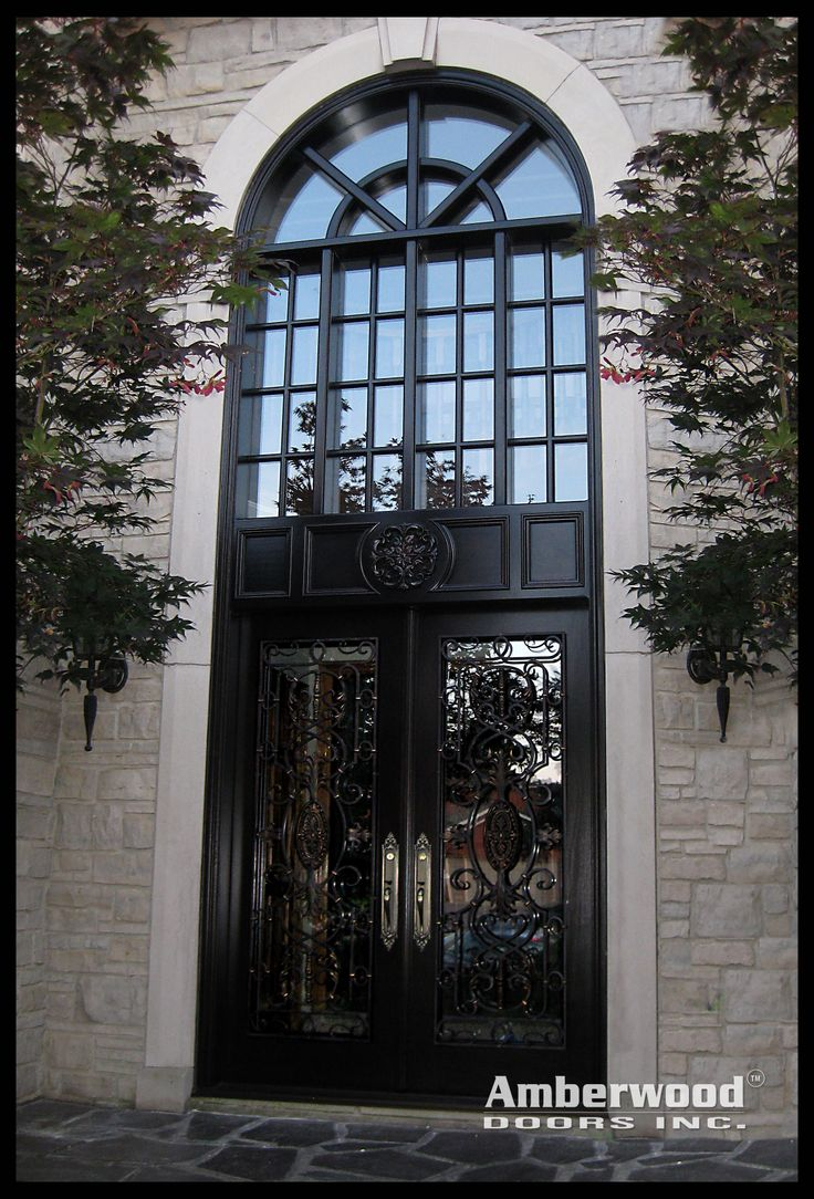 "Amberwood Doors Inc: Talk About A ""Grand"" Entrance! This Magnificent Amberwood"