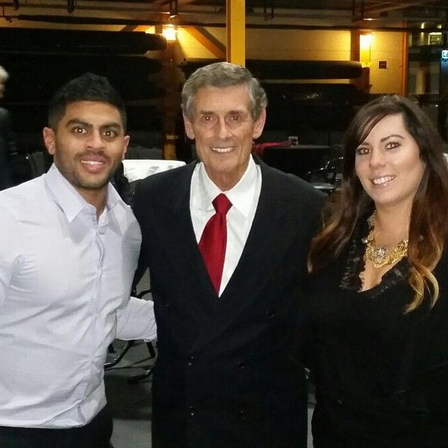 So cool to see our UK team members Navin & Danielle hanging out with Triple Diamond Jerry Meadows! #globalexpansion #teammak by dommckenna