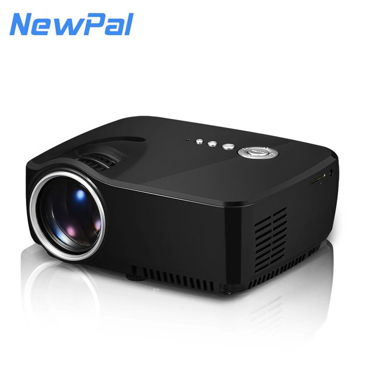 Portable mini led projector 1200 lumens with TV tuner,support 1080P for home theater by double HDMI
