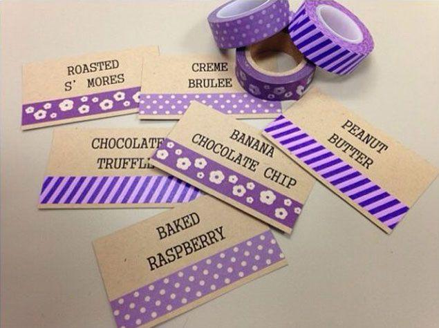 Washi Tape Weddings - 10 Fun Ideas!