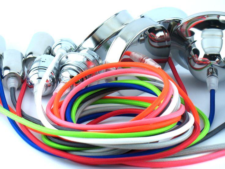 Lampadario sospensione moderno pendel colori