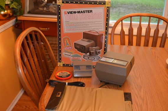 Vintage VIEWMASTER Gaf viewmaster TOUR by KNIGHTLYTREASURES