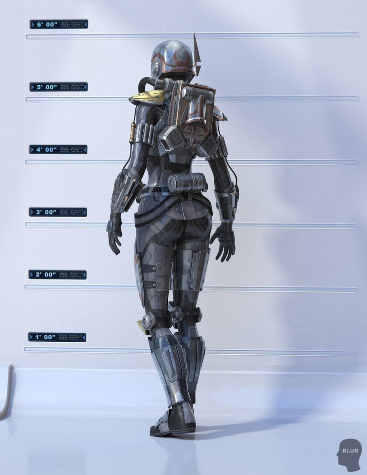 Star Wars TOR 3D - Bounty Hunter, Shae Vizla // by Blur Studio