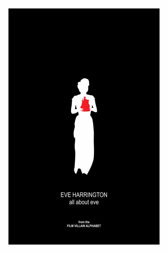 All About Eve  Vintage Movie Poster EVE HARRINGTON by thefilmfreak