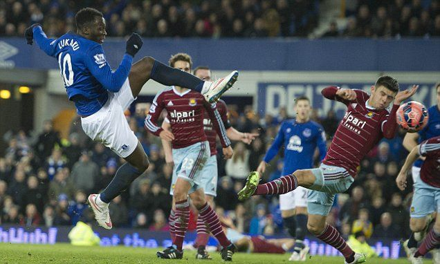 Everton 1-1 West Ham: Romelu Lukaku rescues struggling Toffees in the FA Cup 3rd. Round on January 6th. 2015.