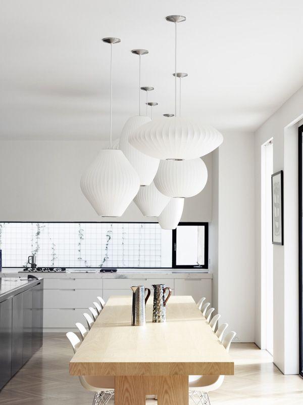 Toby Scott Lighting Design Kitchen Nelson Bubble Lamp