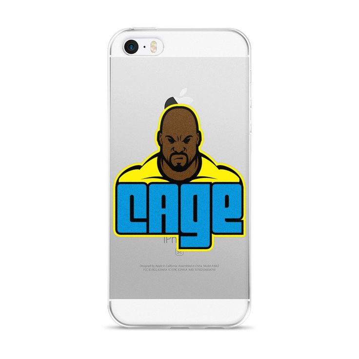 Luke Cage iPhone Case – Third Jersey Apparel