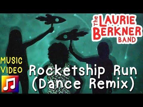 """Rocketship Run (Dance Remix)"" is a brand new dance remix of Laurie Berkner's classic song, Rocketship Run."