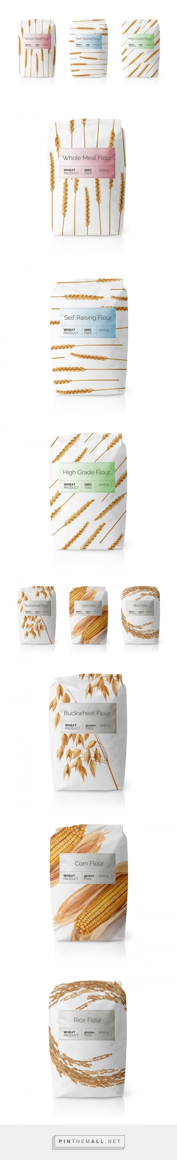 Flour Packaging by MAISON D'IDÉE | Fivestar Branding Agency – Design and Branding Agency & Curated Inspiration Gallery