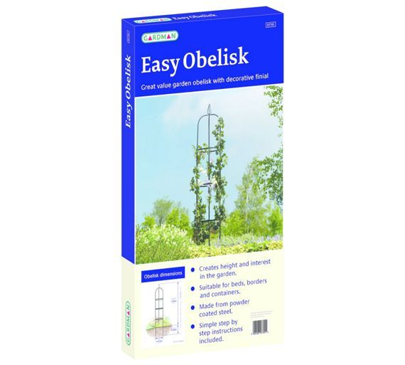 Buy Gardman Easy Garden Obelisk at Argos.co.uk - Your Online Shop for Garden ornaments and lanterns, Garden ornaments and accessories, Garden decoration and landscaping, Home and garden.