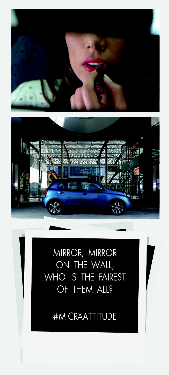Have the #MicraAttitude - YOU ARE! #Competition #Contest #Micra #Car #Lifestyle #Woman #Women #Attitude #Quote #Caption #Style #Confidence #Intelligence #Design #Technology #Beauty #Lips #Mirror