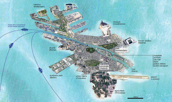 Mülteciler için Akdeniz'de 'yapay ada' projesi